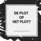 de plot of het plot taaltip