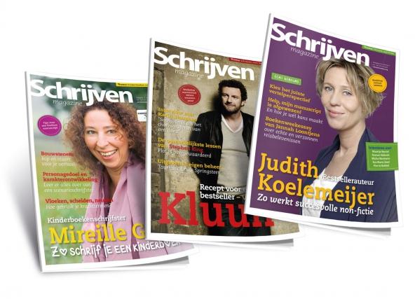 Boek schrijven? Lees Schrijven Magazine!