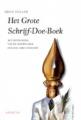 De cover van het Grote Schrijf Doe Boek van Louis Stiller.