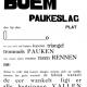 Boem Paukeslag van Paul van Ostaijen is het gedicht van de week.