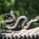 Herkomst van ergens 'de draak mee steken'