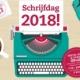 schrijfdag 2018