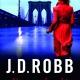 Cover van 'Vermoord naakt', het eerste deel in de thrillerreeks van J.D. Robb.
