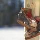 Herkomst van 'een scheve schaats rijden'