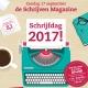 Meld je schrijfactiviteit aan voor de Week van het Schrijven 2017